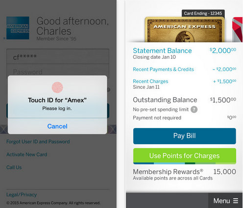 Check deposit in Amex on iPhone how to