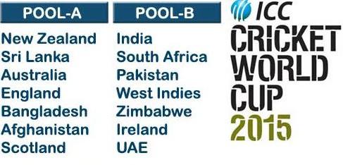 Cricket world cup highlight on iPhone, iPad