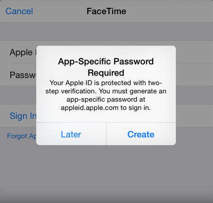 how to disable two step verification for FaceTime and iMessage