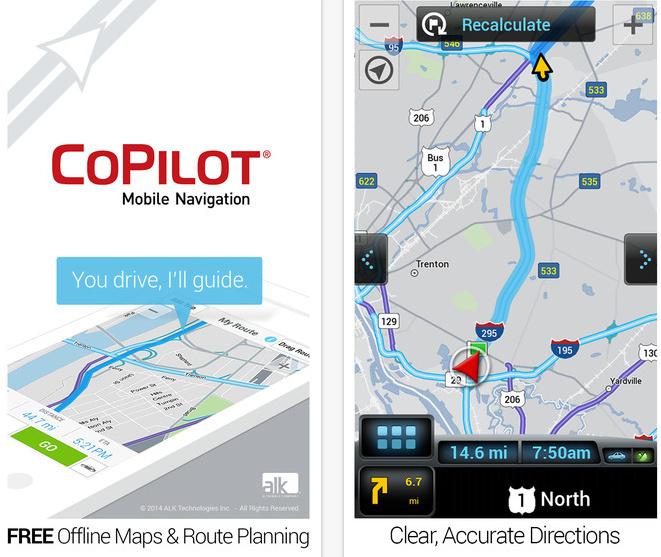 Best iPhone 6 / 6 Plus Navigation app without internet