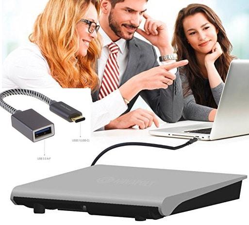 1 Novapolt External DVD writer for MacBook