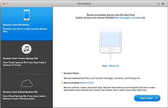 iPad, iPod, iPhone data recovery reviews software