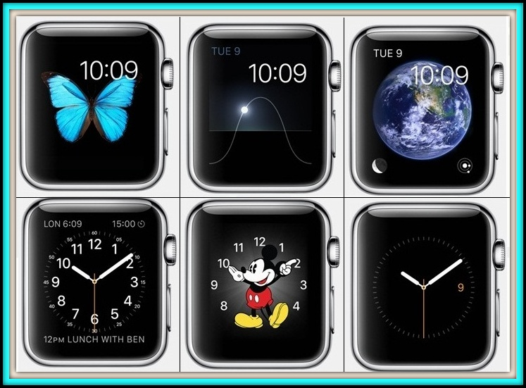 change faces on apple watch how to