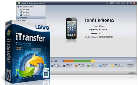 Best software for Transfer files iPhone from Mac