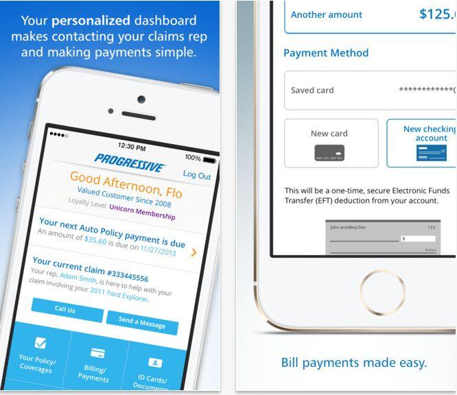 Progressive Useful Insurance app for iPhone and iPad