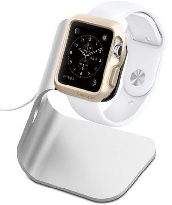 Spigen Apple watch stand and charging dock