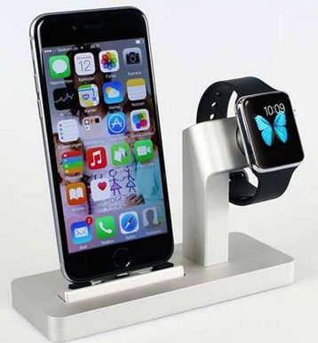 Dock for Apple watch and iPhone