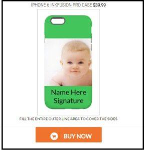 Skinit iPhone 6 and iPhone 6 plus case designer
