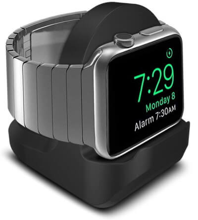 Integrated Cable Management Dock for Apple Watch