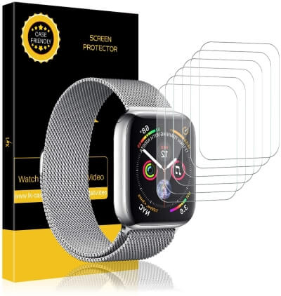 LK 6 Pack Screen Protector for Apple Watch 40mm 38mm