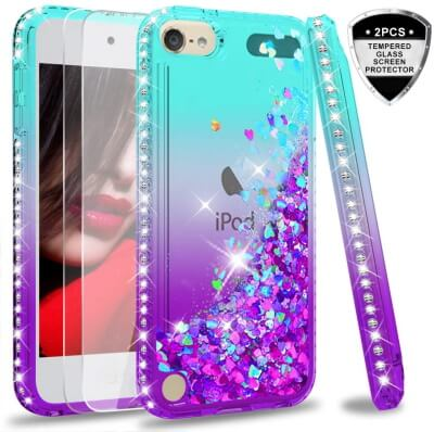 LeYi iSlide Slim fit Case best for iPod Touch 5th Gen