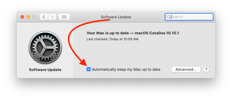 Automatically keep my Mac up to date