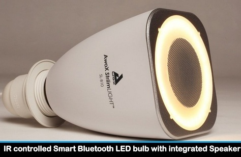 Best Bluetooth light bulb and speaker controlled by iPhone
