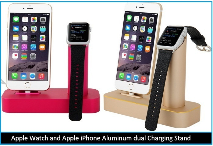 best Apple watch and iPhone stand 2015