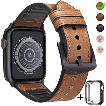 Leather band for Apple Watch Sport Edition