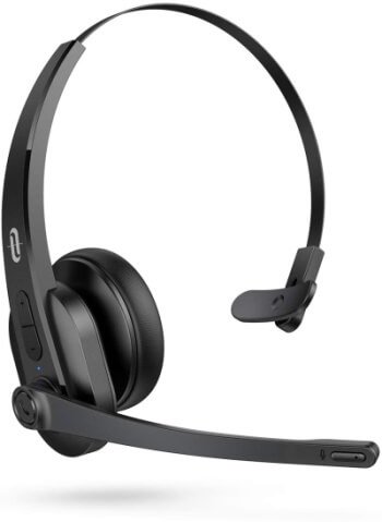 TaoTronics iPhone Bluetooth headset with microphone