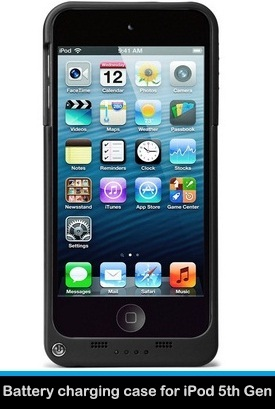 Best Battery Charging case for iPod Touch 5th Gen