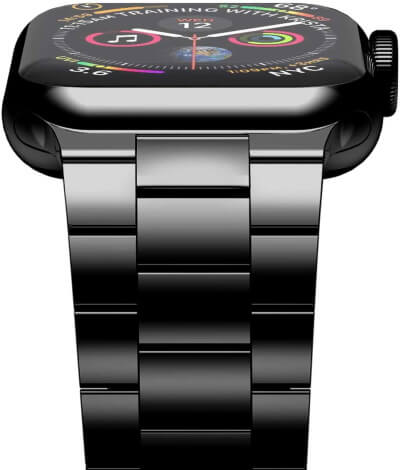 iiteeology Jet Black Apple Watch Band