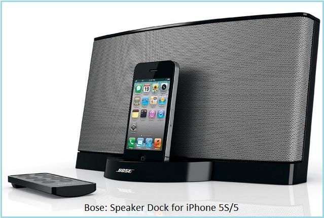 Best iPhone 5S speaker dock by Bose