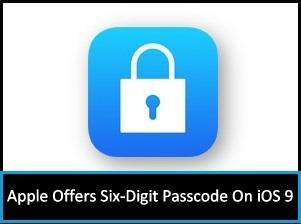 How to set 6 Digit Passcode iPhone iPad