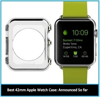 Best Protective Case for 42mm Apple Watch