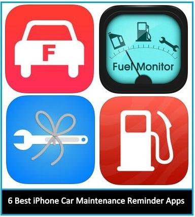6 Best iPhone Car maintenance reminder apps