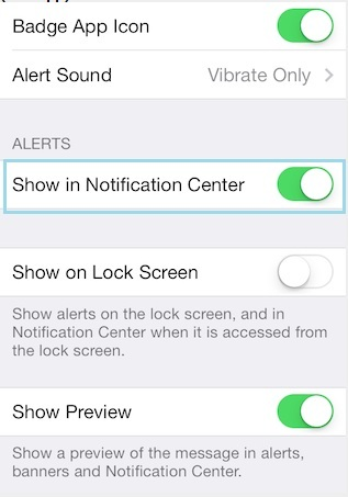 iPhone not notifying new Mail running on iOS 8/iOS 7