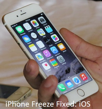 iPhone 6 freeze with iOS 8 Screen