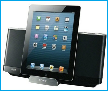 iPod touch 6th generation speaker dock by sony