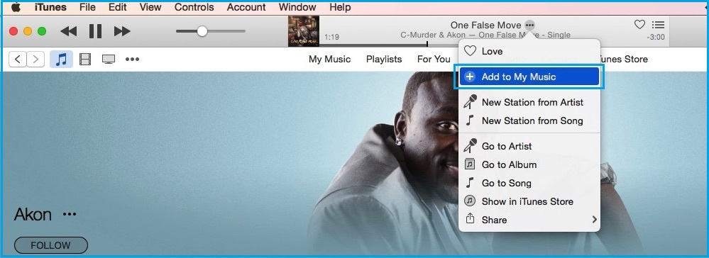 Download Apple Music song from iTunes on Mac with OS X Yosemite