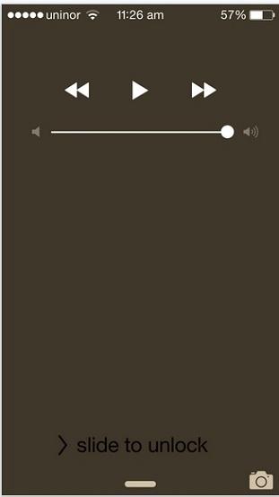 Auto stop music on lock screen sleep timer for music app