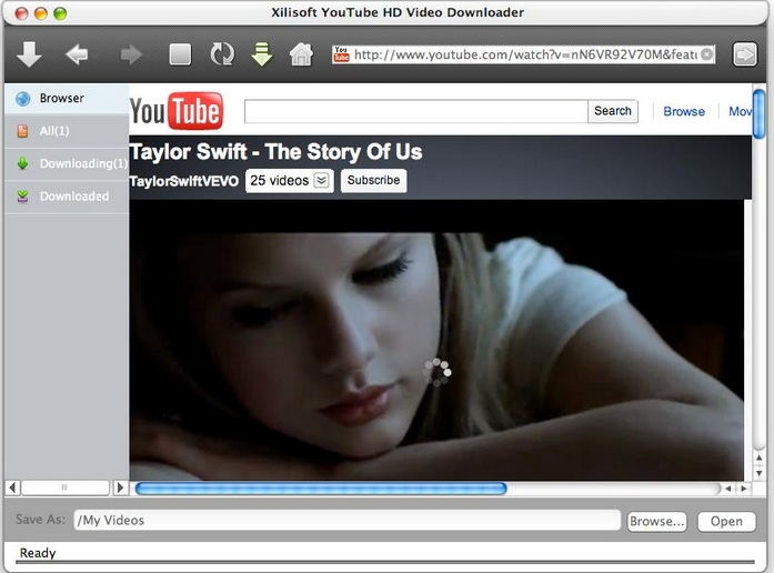 Xillisoft Video Download on Mac OS X Yosemite