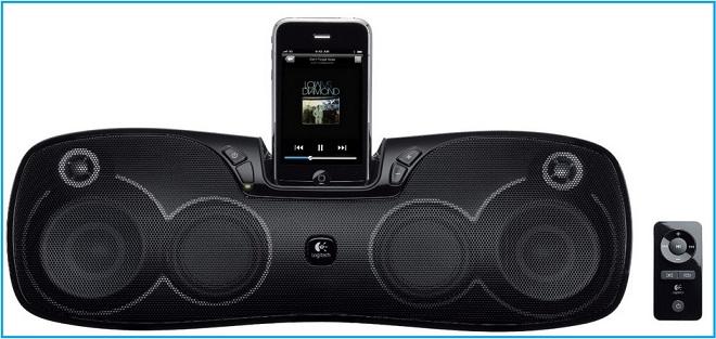 iPod Touch Speaker dock by logitech