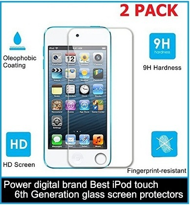 Power digital brand Best iPod touch 6th Generation glass screen protectors