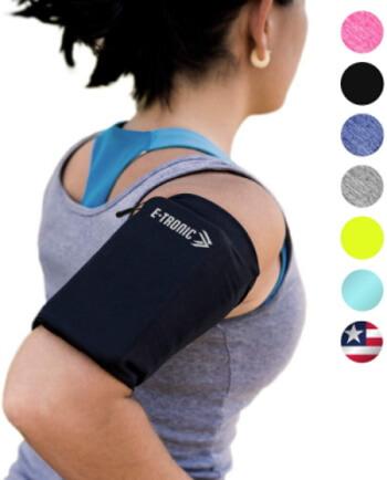 Slim Sleeve Phone Armband by E Tronic