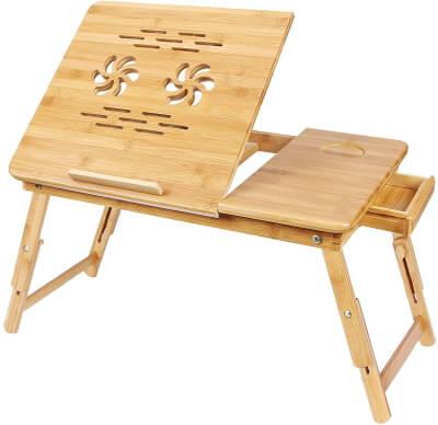 Wooden MacBook Stand