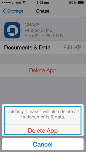 How to delete apps from iPhone 6, iPhone 6 Plus and iPad Air, iPad Mini permanently