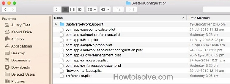 How to Fix Wi-Fi issue on Mac OS X Yosemite -10.10.3