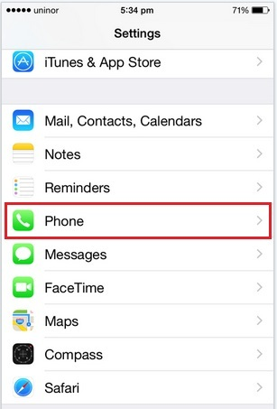 Block all unknown calls and FaceTime on iOS 8/ iOS 7