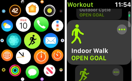 Workout App on Apple Watch That sync iPhone Health APp