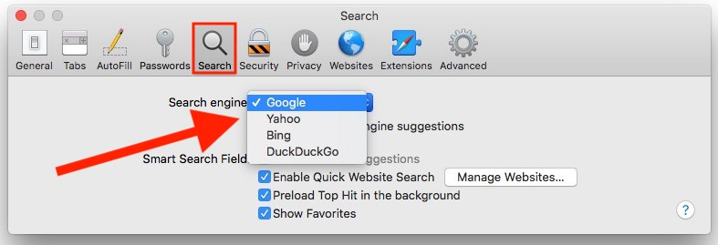 2 Safari default Browser change on Mac
