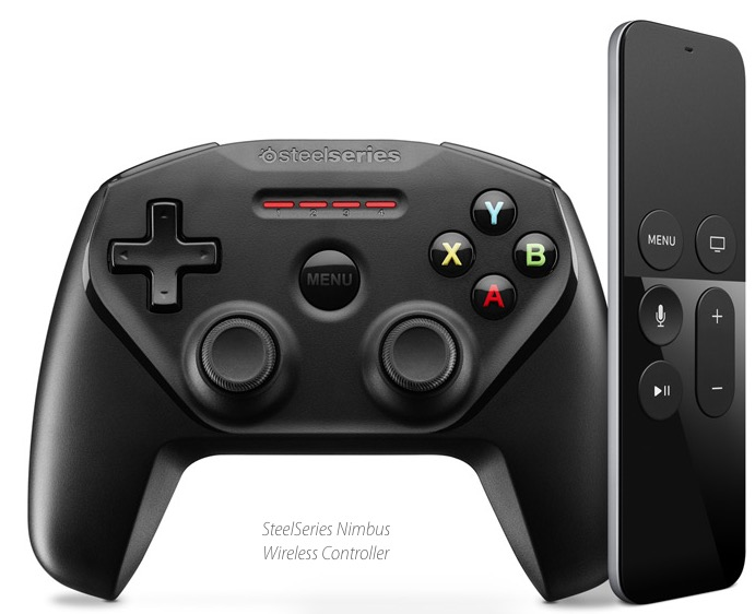 Apple TV gaming controller for games