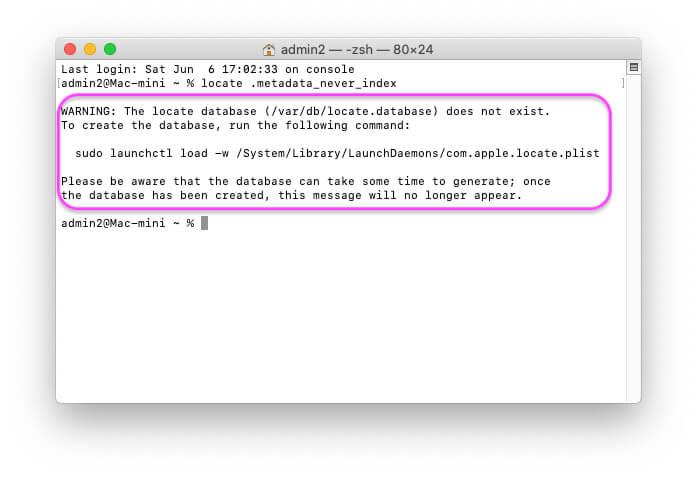 Database index not working