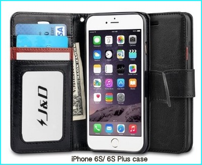 Flip case for iPhone 6S and 6S Plus case