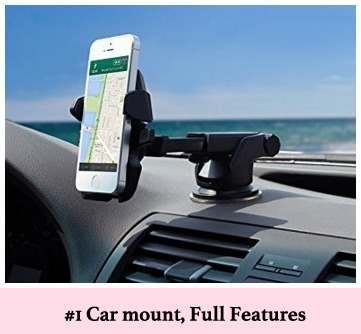 Best iPhone stand and dock for car