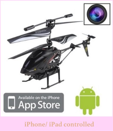 Android and iPhone controlled drone