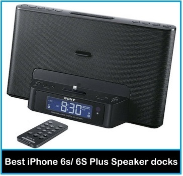 best Sony iPhone 6S Speaker dock with Remote control 2016