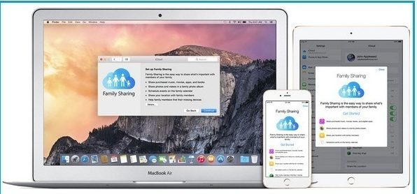 How to Setup family Sharing in iOS 9
