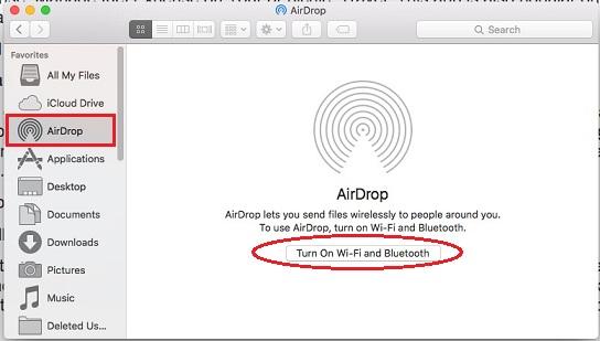 AirDrop not working in iOS 9 to Mac OS X Yosemite or OS X EI Capitan