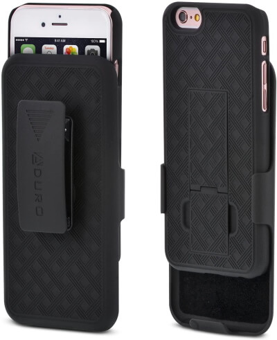 Aduro iPhone 6S Holster Case with Kickstand